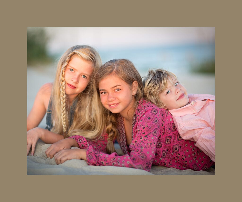Family beach photo OBX
