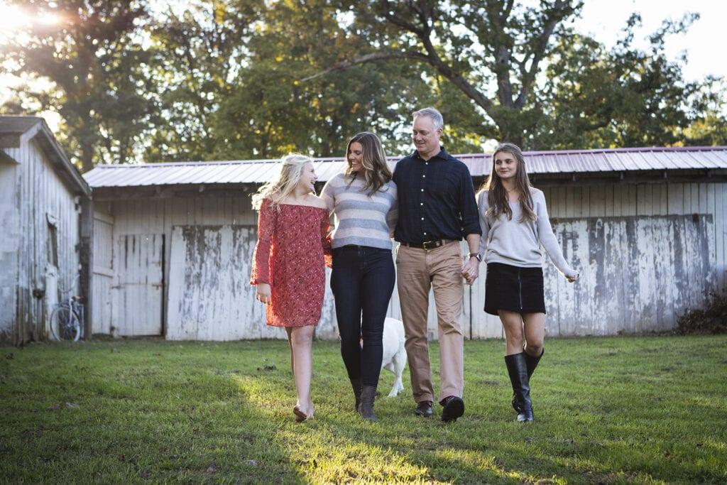 Family fall photo session leesburg, fall family photo session